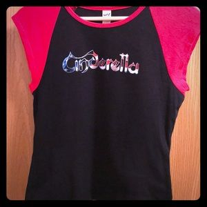 Tops - 🎼Cinderella (the band) Cap Sleeve Baby-T Size XL